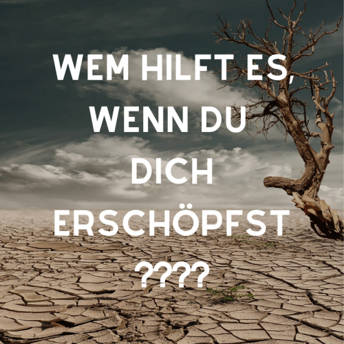 WEM HILFT ES, WENN DU DICH ERSCHÖPFST___ (1)